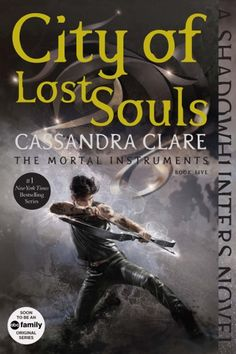 Coming September 1st, Cassandra Clare's Shadowhunters novels are being repackaged with all-new art and bonus content! Here's the new City of Lost Souls cover!