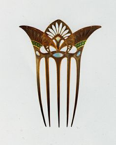 Art Nouveau Comb - so not deco but the egyptian styling fits the theme.