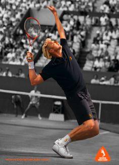 Boris Becker  The best server in the history of tennis!