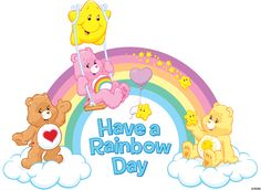 Have a Rainbow Day with the Care Bears! #ShareYourCare