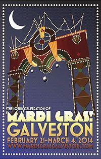 MARDI GRAS! GALVESTON - Galveston, Texas