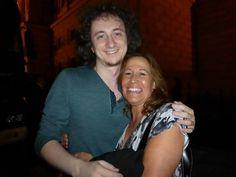 Sandy Berk FollowFollowing · 10 hours ago         With Ruslan Sirota at Frankfurt Alte Oper.