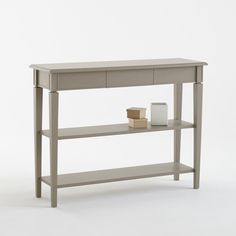 Adelia 2 Shelf Console Table