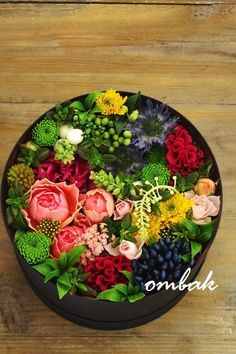 Flowers in hat box Flower Box Gift, Flower Boxes, Deco Floral, Arte Floral, Green Flowers, Beautiful Flowers, Bouquet Box, Month Flowers, How To Preserve Flowers