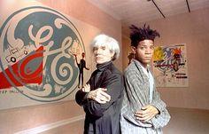 Jean- Michel Basquiat and Andy Warhol (AW_JMB_1_1280)