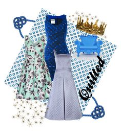 """""""Quilted Queen"""" by chaoticangel79 on Polyvore featuring Global Views, Peacock Alley, Moschino, City Chic, Temperley London, Seletti, Linvin and ApreciouZ"""