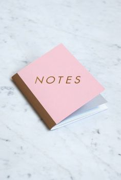 Oh so pretty.  Buy StudioSarah 'Notes' Notebook - Small (13x17.5cm) - Ruled - Available from NoteMaker Stationery - www.notemaker.com.au