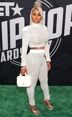 Blac Chyna from The Big Picture: Today's Hot Photos Va-va-voom! The reality star shows off her curves at the BET Hip Hop Awards in Miami.