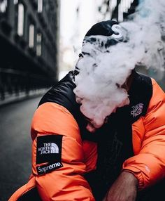 Smokey supreme x tnf