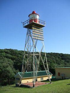 Cape Morgan Lighthouse  1964-02-05 12 m aluminium tower