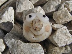 PET ROCK Polymer Clay Ornament by KatersAcres on Etsy