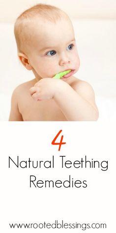 Natural Teething Remedies #Baby #teething