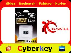 Karta Micro SDHX 64GB G.SKILL Class 10 UHS-I