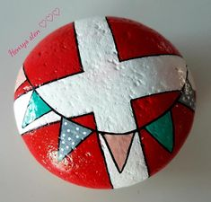 Posca Art, Summer Diy, Pebble Art, Stone Art, Stone Painting, Cement, Diy For Kids, Painted Rocks, Diy And Crafts