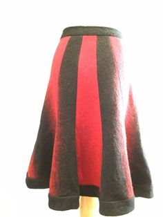 M/&S Collection Sizes 8 12 14 16 18 Wool Mix Lined Wrap Mini Skirt Bnwt Rust Grey