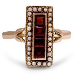 The Morela Ring #BrilliantEarth #Vintage