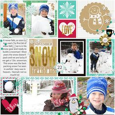Christmas Countdown : Collection by Amanda Yi, Studio Basic Designs & Two Tiny Turtles: http://www.sweetshoppedesigns.com/sweetshoppe/product.php?productid=32567&cat=787&page=1 Template comes with the Bundle