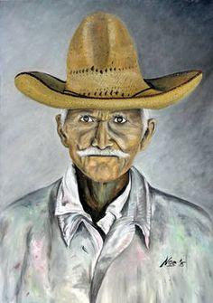 "Saatchi Art Artist Noe Vicente; Painting, ""'Old Man's  Hat'"" #art"