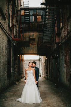 Urban Greenhouse Wedding at 501 Union | Photo by Lev Kuperman