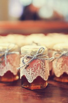 Honey Wedding Favors | Austin Wedding Planners, LLC | Beth Aubrey Photography https://www.theknot.com/marketplace/beth-aubrey-photography-austin-tx-270293