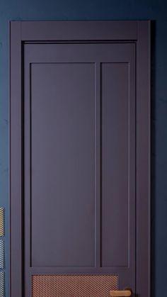 Modern Entrance Door, Modern Wooden Doors, Wooden Door Design, Main Door Design, Entry Way Design, Door Design Interior, Bedroom Closet Design, Hallway Wall Colors, Wall Panel Design