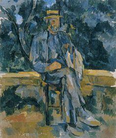 Portrait de paysan, 1906 - Paul Cézanne
