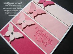 paint chip card ideas | paint chip butterflies | Card Ideas