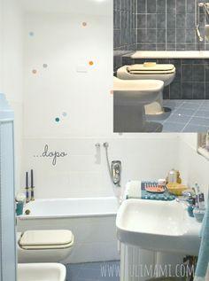 Dipingere le piastrelle del bagno su pinterest bagni - Dipingere piastrelle bagno ...