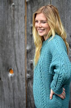 Ravelry: Braid and Lattice Pullover pattern by Candace Eisner Strick