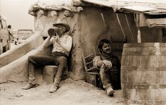 """Gus and Jake from """"Lonesome Dove"""""""