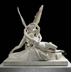 Antonio Canova, Cupid and Psyche, 1786-93; one of my favorite pieces, it was a dream come true to see it in the Louvre! Simply splendid in person!