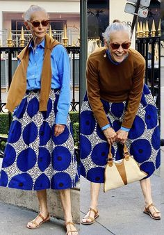 Mature Fashion, Over 50 Womens Fashion, Boho Fashion, Fashion Looks, Vintage Fashion, Fashion Outfits, Fashion Design, Cooler Look, African Inspired Fashion