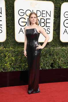 Amy Adams in Tom Ford - Every Best Dressed Look from the 2017 Golden Globes - Photos
