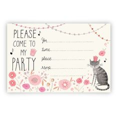 ◆A cute party invitation you can that that you can print yourself!◆Once purchased you will receive  a secure link to download the PDF file. Then you can easily be print at home or at a printing center.◆The invites are 4x6 inches. Comes 2 to a standard 8.5x11 inch page◆You can print as many as you need but these are for personal use only!*Tip* A6 size envelopes work great for these invites!