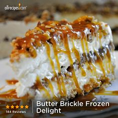 """Butter Brickle Frozen Delight 