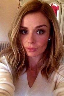 Katherine Jenkins reveals new honey blonde hair colour