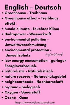 German and english | language learning| nature | climate | learn english | learn german vocabulary | #deutschlernen #learnenglish #englischlernen #deutschlernen