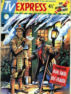 Blimey! It's another blog about comics!: Christmas Comic Covers - Part 1