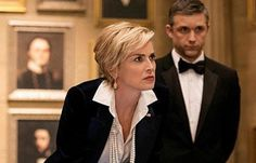 "Sharon Stone and Jeff Hephner star in ""Agent X"" on TNT."
