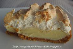 Viajar de Mochila às Costas: Tarte de limão merengada