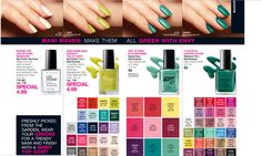 Mani Maven: Make them ALL GREEN with Envy! Shop PJ's Avon for NEW Nail Colors! Avon Nail Care Line has many options and perks . . . it's affordable, we have rich long lasting color, gel finish or quick drying polish. Whatever your style is, we are sure to have it in the store. Can't Make It In? No Problem! Shop with us online at www.youravon.com/pjack #diy #nailsdonewithcare #savememoney #avonnails