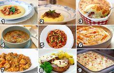 Seleção de comidas quentinhas e gostosas para te aquecer nesse inverno. E o melhor, todas fáceis e rápidas de preparar. É só clicar no nome da que mais te agrada para acessar a receita.  1. P…