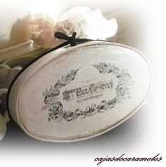 Brag Monday - French Metal Box & French Sheet Music Ornaments - The Graphics Fairy