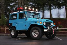 CUSTOM TOYOTA FJ CRUISER | 1972 Toyota Land Cruiser Fj 40 Custom Suv Lot 1397 Barrett Jackson ...