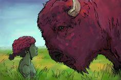 Atreyu & The Purple Buffalo by Jared Salmond [©2011]