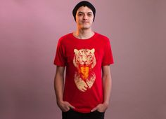 """Tigress"" - Threadless.com - Best t-shirts in the world"