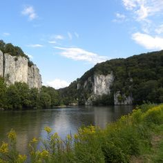 The Danube Gorge near Weltenburg and Kelheim, Germany