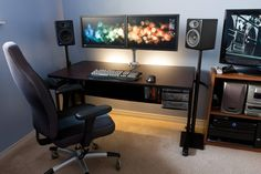 Monitor mount is really nice, though i'm not a huge fan of the speakers.