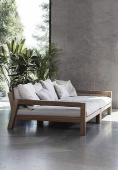 Top Rivera Sofa Design Ideas for Cozy Living Room Outdoor chaise sofa Beach Living Room, Cozy Living Rooms, Living Room Sofa, Living Room Decor, Home Decor Furniture, Furniture Design, Furniture Ideas, Wooden Sofa Designs, Diy Sofa