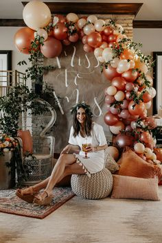 Jga Boho, balloons, bridal shower, miss to Mrs Wedding Gown Pitfalls: How To Avoid Making A Costly M Chic Bridal Showers, Bridal Shower Party, Bridal Shower Balloons, Bridal Shower Backdrop, Simple Bridal Shower, Bridal Shower Rustic, Bridal Shower Dresses, Outside Bridal Showers, Bridal Shower Venues